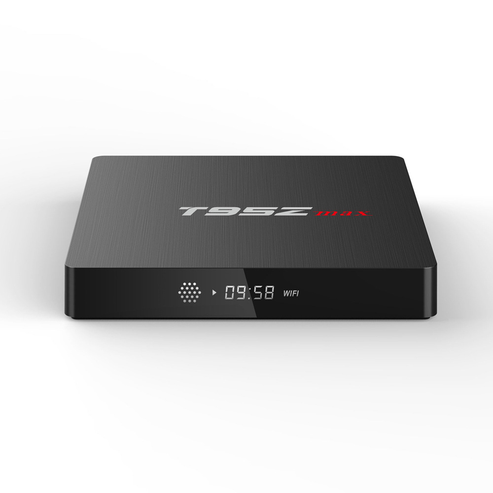 T95Z MAX Amlogic S912 Octa Core Android 7.1 TV BOX 2.4G/5GHz WiFi 2G/3G 16G/32G 4K H.265 Smart Set Top tv Box shinsklly x92 android tv box amlogic s912 octa core ram 2g rom 16g 32g smart tv box android 6 0 wifi 4k 3d player set top box