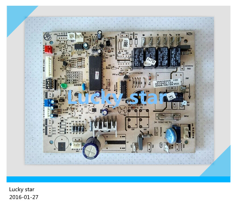 95% new for Haier Air conditioning computer board circuit board  KF-120LW/L 0010451123 good working 95% new for haier refrigerator computer board circuit board bcd 198k 0064000619 driver board good working