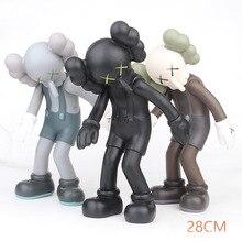 28 см KAWS Brian VOGUE OriginalFake BFF Street Art ПВХ фигурка Коллекционная модель игрушки Бесплатная доставка