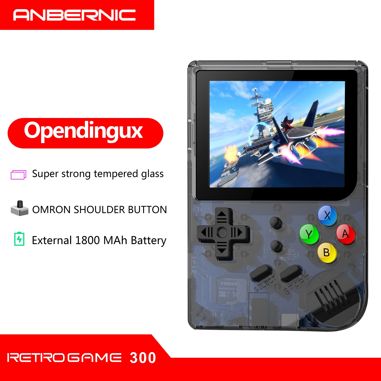 Portable New RG 300 Video Games Consola 3000 RETRO GAMES PS1 FC RETRO GAME rg300 Free