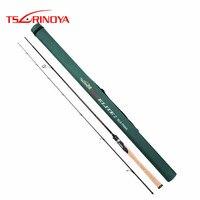 Tsurinoya 2 секции 2,13 м Спиннинг Удочка Мощность: ML действие: М быстро углерода спиннинги FUJI руководство кольцемер Vara De PESCA Olta