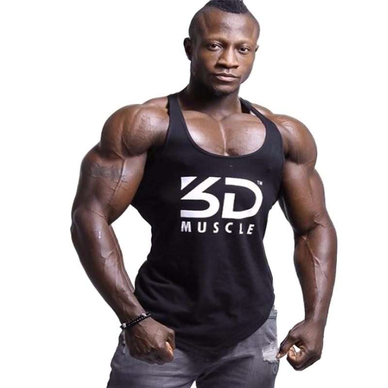 2018 Marke Kleidung Fitness Tank Top Männer Stringer Golds Ärmel Bodybuilding Muskel Shirt Workout Weste Turnhallen Unterhemd Modernes Design