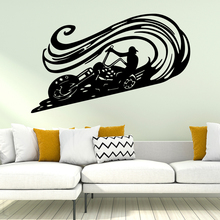 Free shipping motorcycle Vinyl Wall Sticker Wallpaper Decor For Living Room Bedroom Decoration Decal Stickers Murals