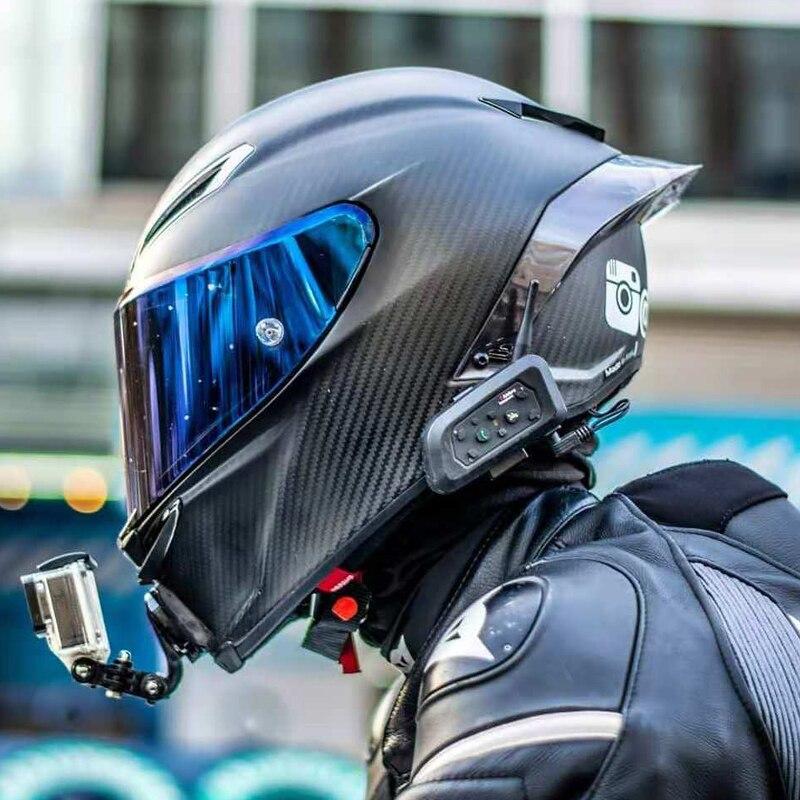 Casque De Moto intégral peinture carbone casque De course Motocross hors route Kask Casco De Moto Motociclista DOT approuvé
