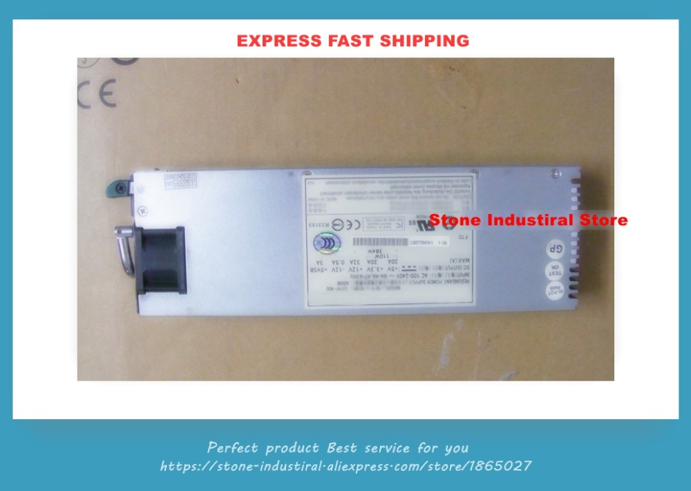 Original EFRP-400 400W server redundant power supply power supply hot swappable module for p1s 2400v r 400w well tested working 90days warranty server redundant