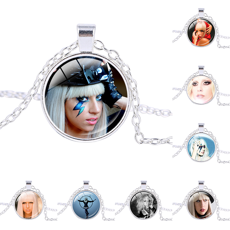 Hot trend of the popular fashion Promotion Lady GaGa photo necklace Mother Monster pendant jewelry Fashion necklace Chokers ...