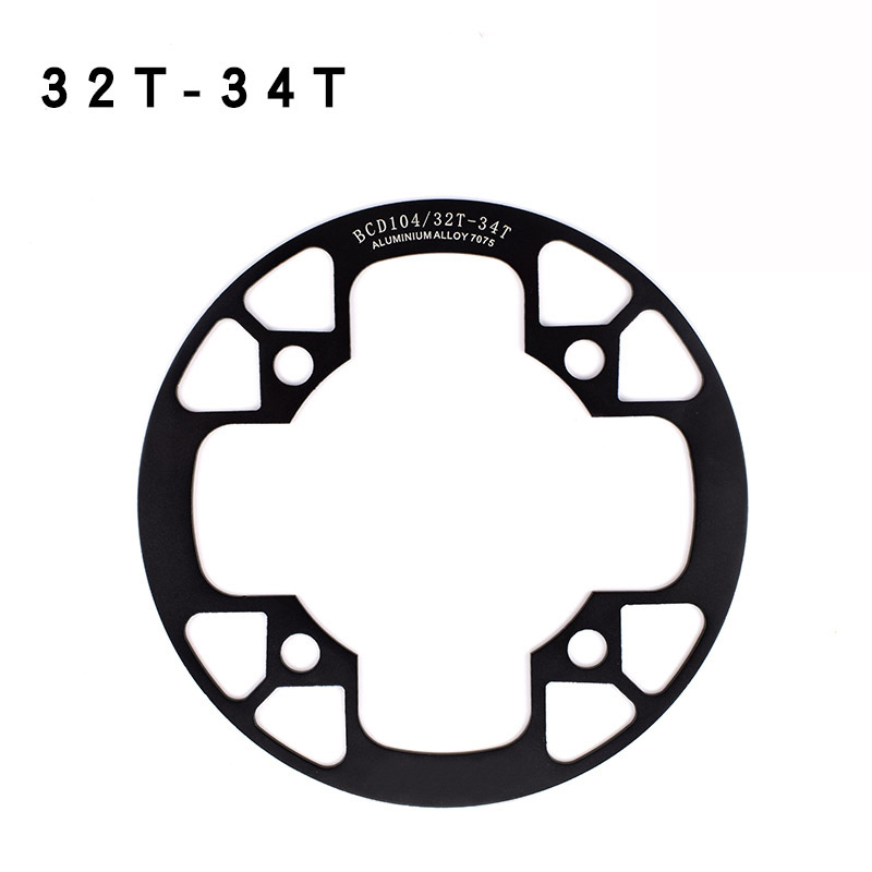 1 Piece Round Shape Bicycle Crank Crankset Fixed Gear MTB Riding Sprocket Wheel 32 34 36 38 40 42T in Bicycle Crank Chainwheel from Sports Entertainment