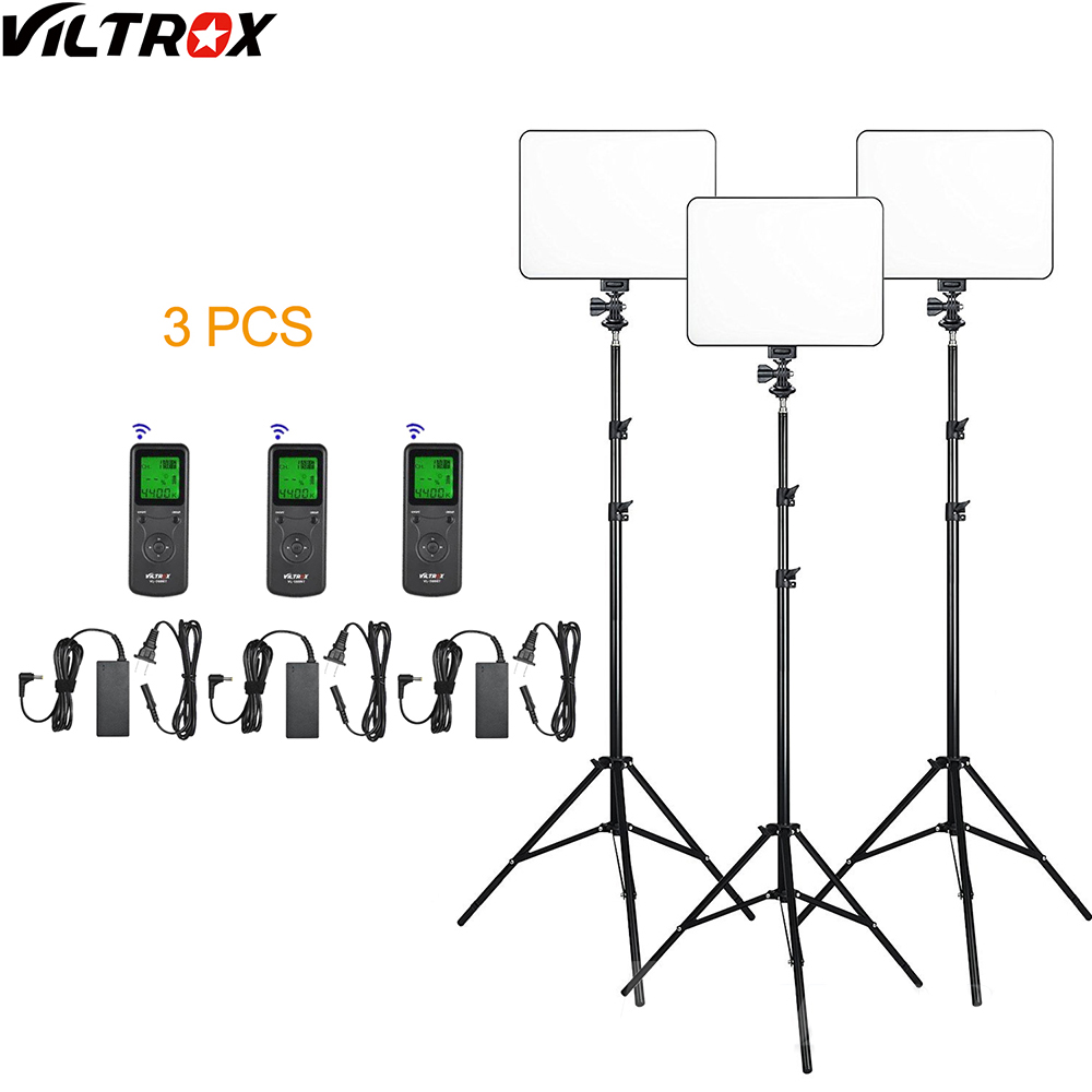 Viltrox VL 200 Pro Wireless Remote LED Video Studio Light Lamp Slim Bi Color Dimmable AC