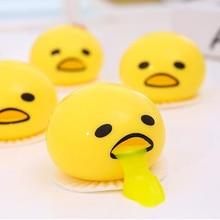 Újdonság Magic Tricky Lusta golyók Hányás Tojás Slime Játékok Pinching Hányás tojás Antistress Vicces játékok Gyerekek Adult Gadget