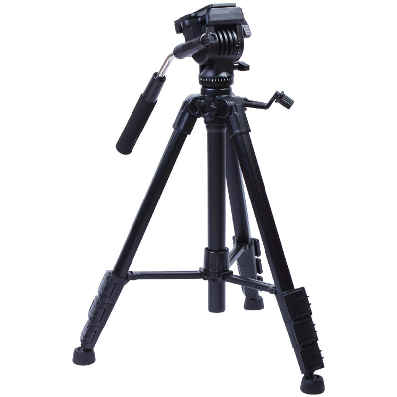 Yunteng VCT-691 Aluminum Tripod Stand Professional Pan Head for Photography Video DSLR Canon Nikon Sony Cameras with Carry Bag