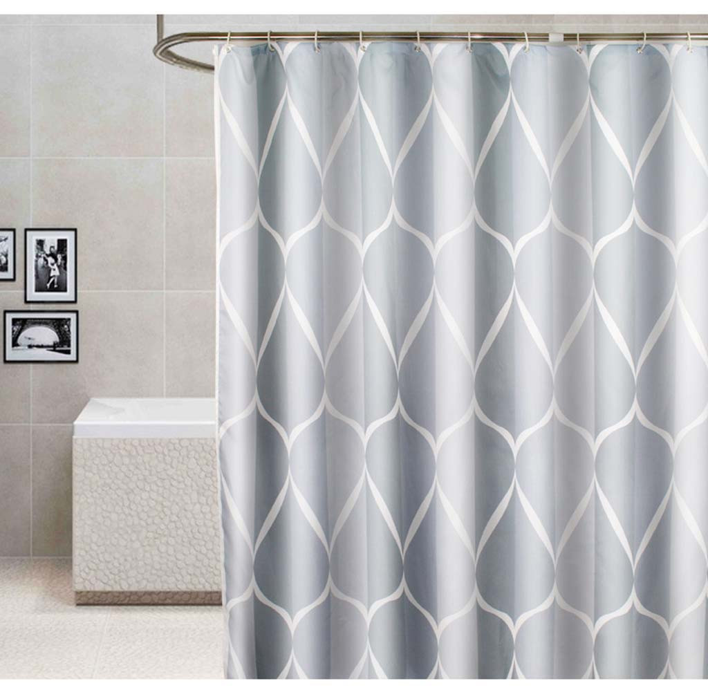 Us 10 86 44 Off New Waterproof Shower Curtain With 12 Hooks Mosaic Printed Bathroom Polyester Decorative Shower Curtain Hooks G36 In Shower Curtains