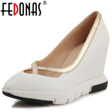 Buy wedges prom shoes and get free shipping on AliExpress.com 50978df03e5f