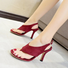 Women Sandals Thin High Heels