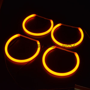 Image 5 - Switchback Cotton Light Halo Rings DRL LED Angel Eyes Kit For BMW 3 5 7 Series E46/E39/E38/E36 Cars Headlight Retrofit 131/146mm