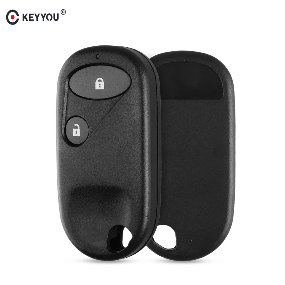 KEYYOU 2 Buttons Replacement Remote Car Key Shell Case For Honda Accord C-RV Jazz Civic 2001-2005 Keyless Entry Key Case CoverKEYYOU 2 Buttons Replacement Remote Car Key Shell Case For Honda Accord C-RV Jazz Civic 2001-2005 Keyless Entry Key Case Cover