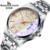 Top de Luxo Da Marca Homens Relógio À Prova D' Água Noctilucentes Homem Ocasional Relógios Retro Relogio masculino Luminosa Relógio Calendário Pulseira de Aço