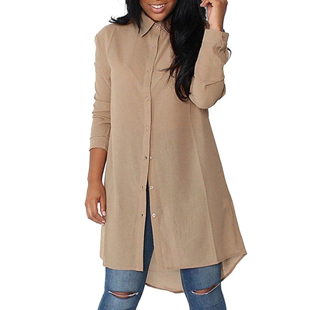 Plus Size Womens Blouses Fashion Autumn 2017 Black Long Sleeve Body Shirt Women Shirts Tops Formal Blouse Clothing
