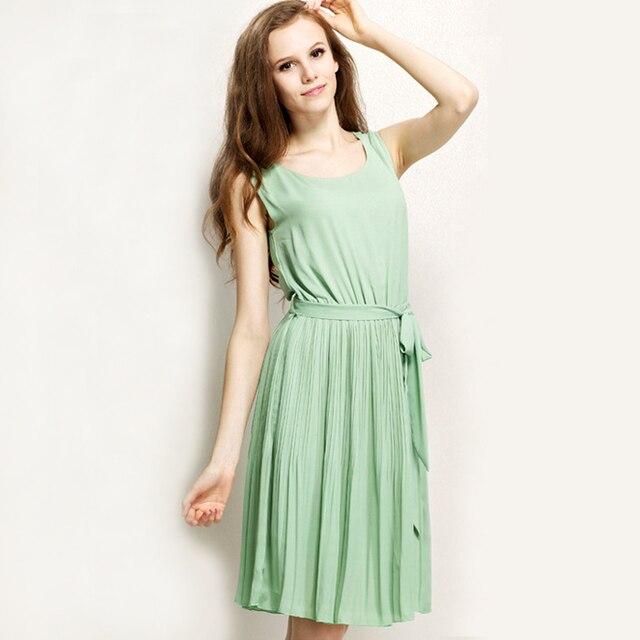 Feminine Chiffon Dress