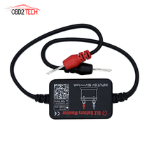 Bluetooth 4.0 Car Battery Tester BM2 Battery Monitor Support Charging Cranking Voltage Test For Android IOS Phone
