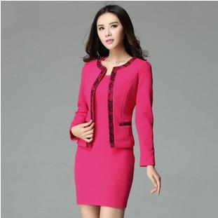 High Quality Design 2015 Spring Formal Female Blue Blazer Women