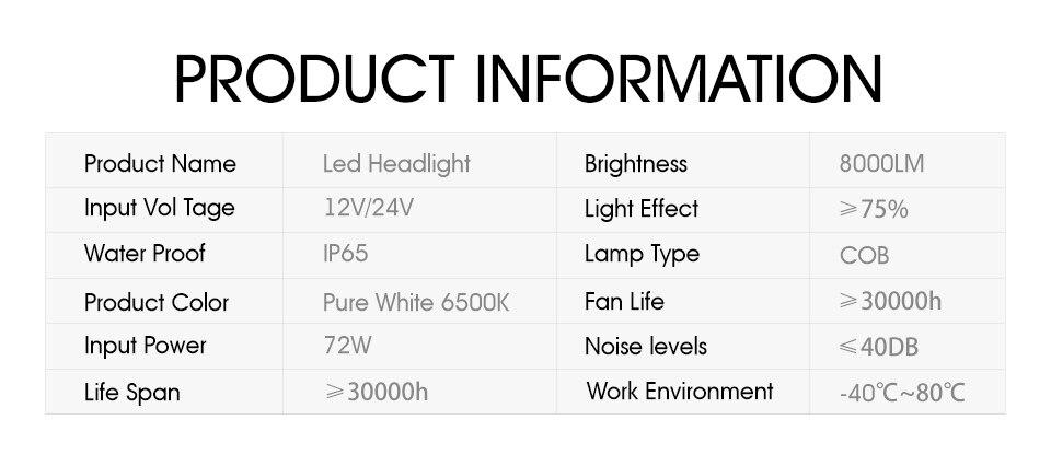 H3 9005 H7 Oslamp 11