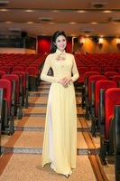 traditional vietnam clothing cheongsam aodai vietnam dress vietnamese traditionally dress cheongsam modern women aodai