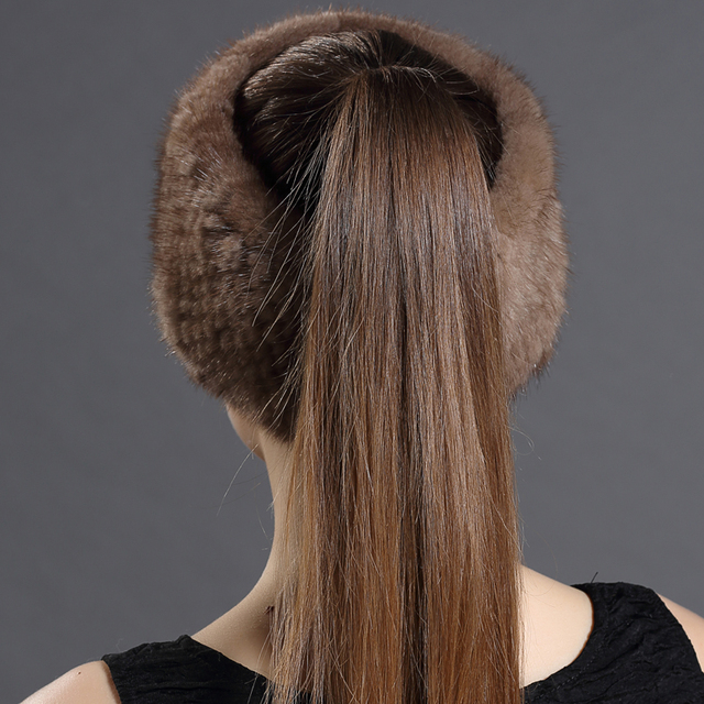 2017 Spring Autumn Winter New High Quality Real Mink Fur Hat