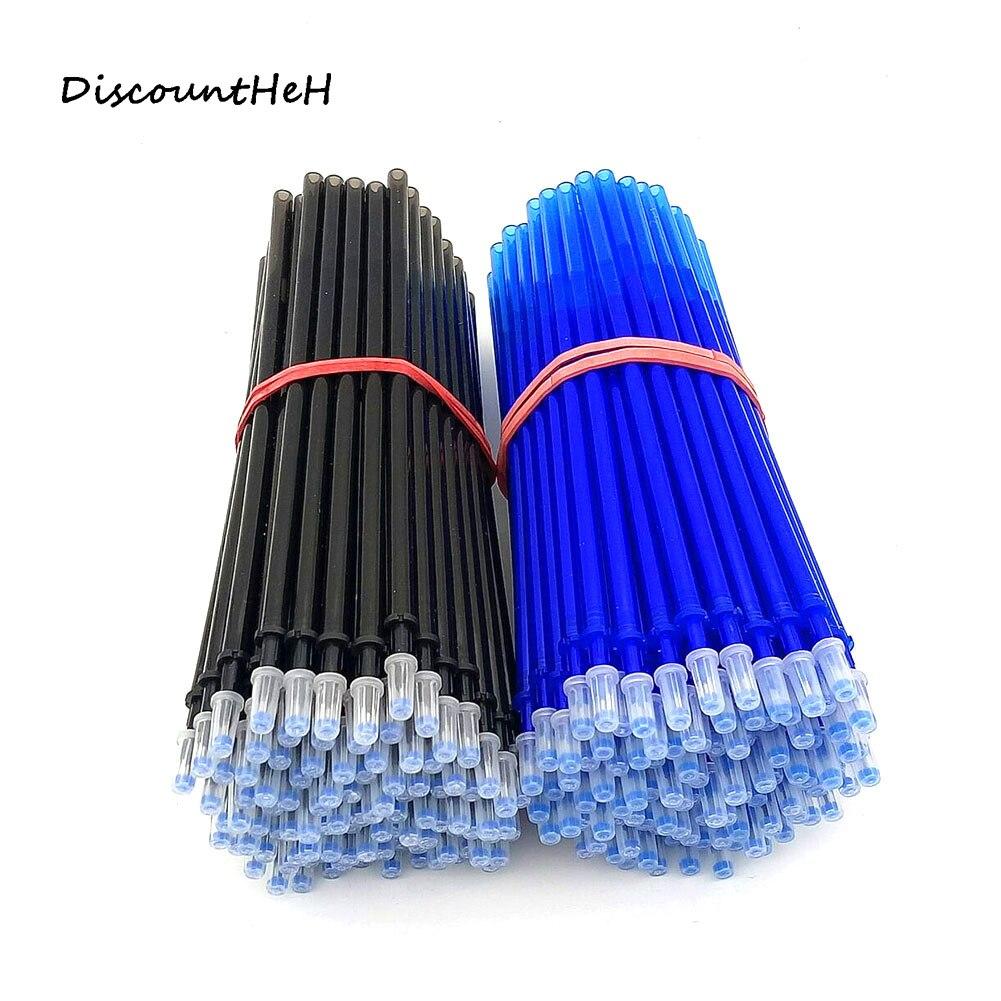 10 Pcs/set  Erasable Gel Pen Refills  Blue And Black  Ink A Magical Writing Gel Pen Refills
