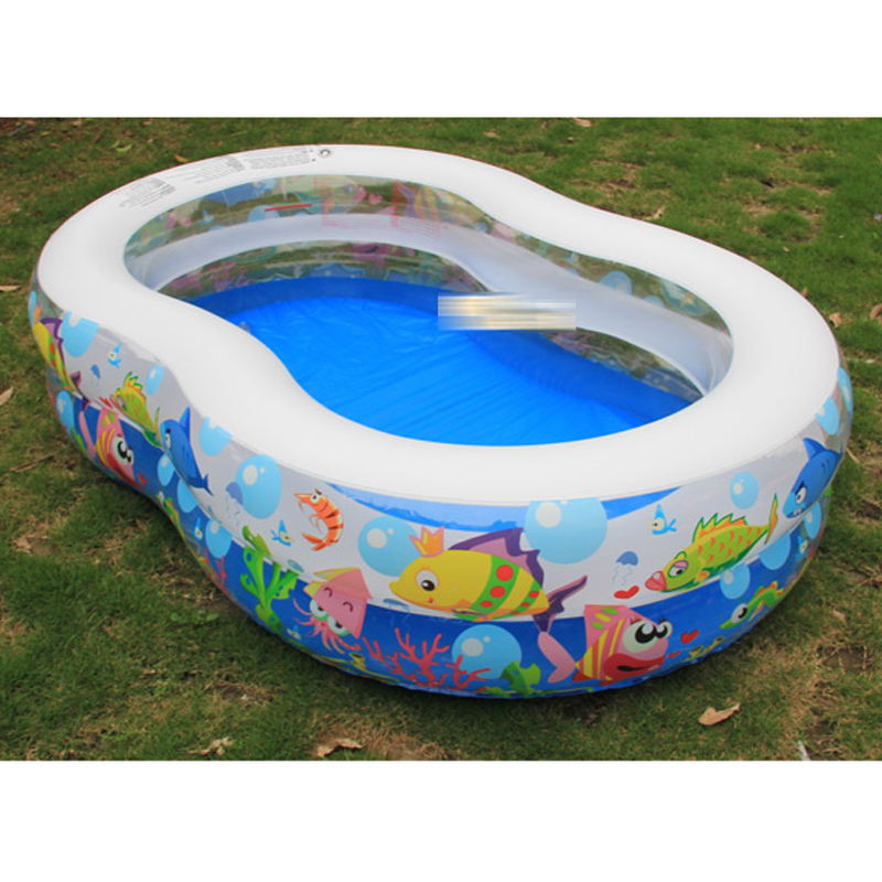 Large Size Home Use Inflatable Swimming Water Pool Kids Outdoor Bathtub Piscina Bebe Zwembad Game Playground PVC Bath Tub cute children inflatable swimming water pool ocean ball thick pvc outdoor playground zwembad piscina bebe a107 1