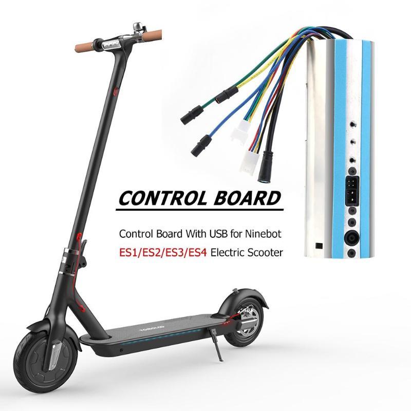 Carte de commande avec USB pour Ninebot ES1/ES2/ES3/ES4 Scooter électrique pratique en plein air Scooter accessoire pièces