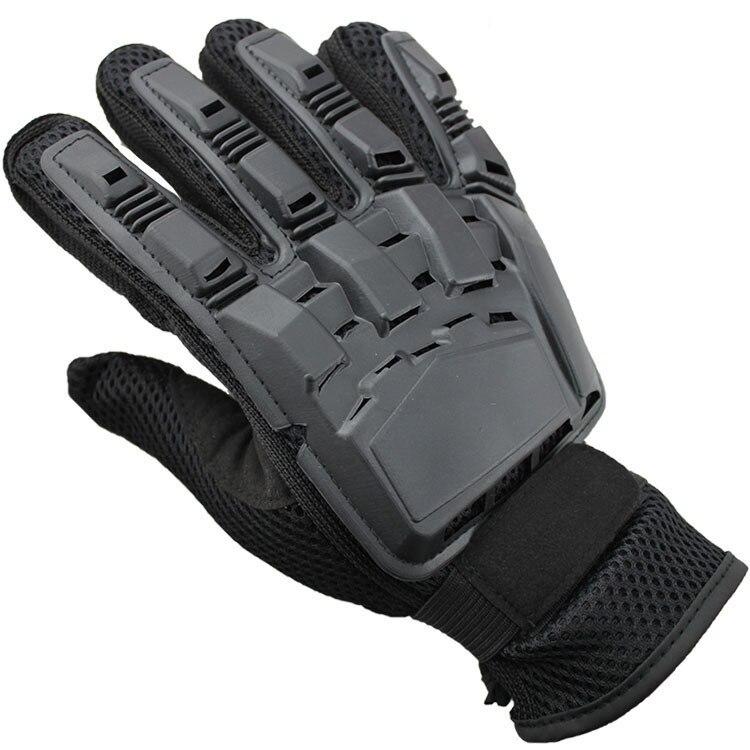 Persönlichkeit Motorrad Handschuhe Kunststoff Shell Ultra Faser Atmungs Racing Reiten Handschuh Luva Motocross Motocicleta Handschuh Für Männer