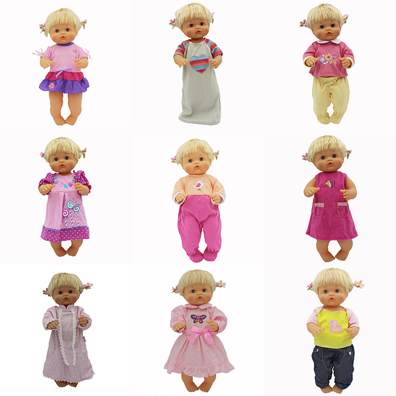 10 Style Doll Clothes Fit For 42cm Nenuco Doll Nenuco Su Hermanita Doll Accessories