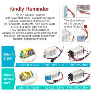 Image 2 - LED Driver 1W 3W 5W 10W 20W 30W 36W 50W 100W 300mA 600mA 900mA 1500mA Waterproof Lighting Transformers for DIY Lamp Power Supply