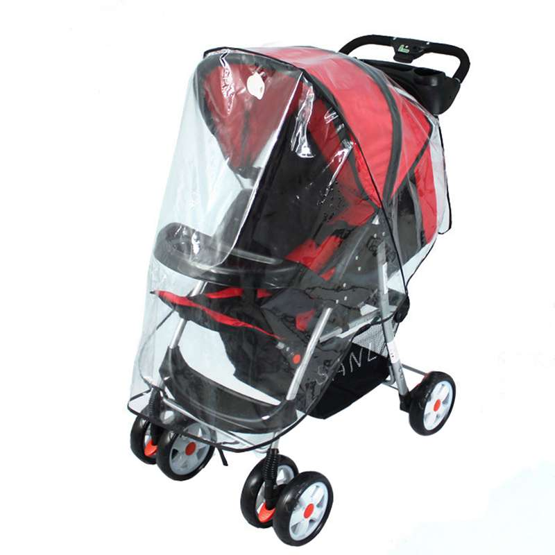 Universal Baby Stroller Waterproof Dustproof Cover Windproof Shield Stroller Accessories Baby Cart Buggy Pushchair Rain Cover
