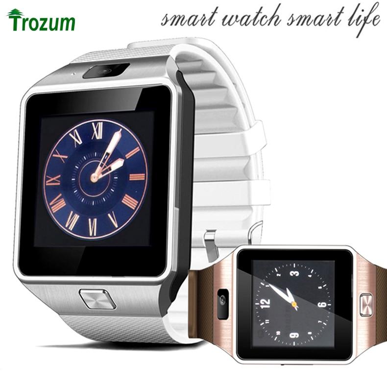 Trozum d3 smart watch c88 bluetooth sync notifier supporto sim tf card della macchina fotografica u8 smartwatch per iphone ios android