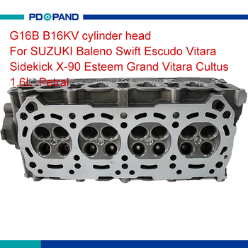 11100-52G01 11100-71C01 auto cylinder head for Suzuki Baleno Swift Escudo Vitara Sidekick X-90 Esteem Grand Vitara Cultus 1.6L