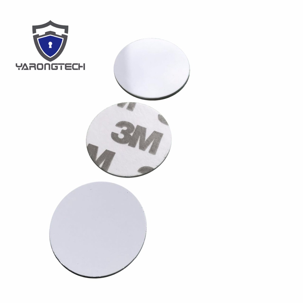 125Khz Rfid Tag EM4100/TK4100 ID Coin 3M Stickers 25mm (Pack of 10) 18mm 3m stickers coin type 125khz rfid coil card em rfid chips 50pcs