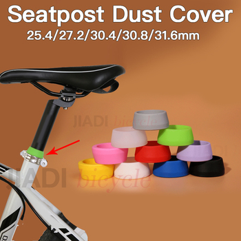 MUQZI Bicycle Seat Post Silica Gel Waterproof Dust Cover Elasticity Durable Rubber Ring MTB Road Bike Seatpost Protective Case image