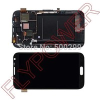 For Samsung Galaxy Note 2 I317 N7105 LCD Screen With Touch Screen Digiitzer Frame Assembly By