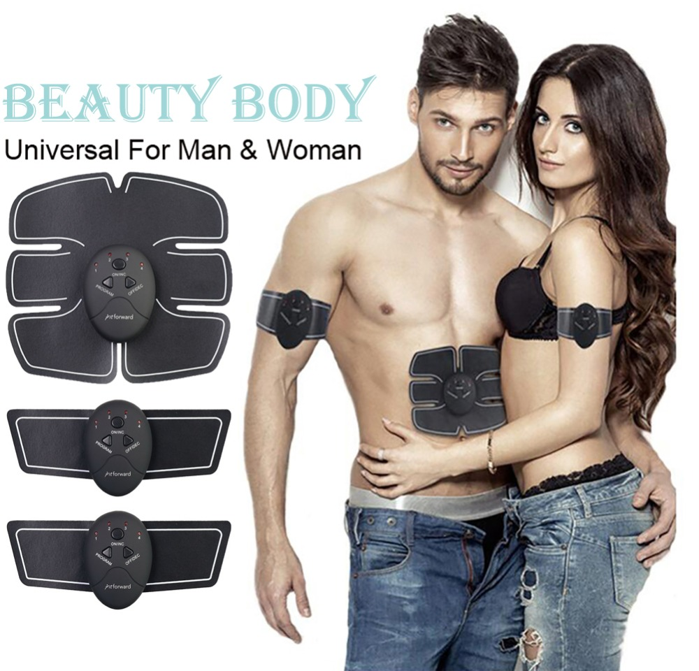 New ems trainer Health Abdominal machine electric muscle stimulator ABS Trainer fitness/Slimming  massager / Muscle