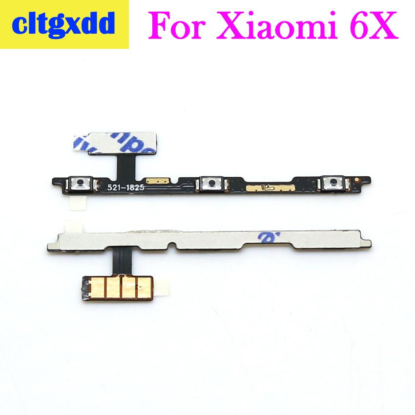 Cltgxdd For Xiaomi 3 4S 4C 5S 5Splus 5X 6 6X 8 Volume Button Power Switch On Off Button Key Flex Cable For Xiaomi Mix Max2 Note