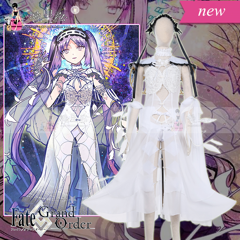 Stheno fgo cosplay Fate/Grand Order sexy cosplay costume sexy lingeries dress can custom made/size 1