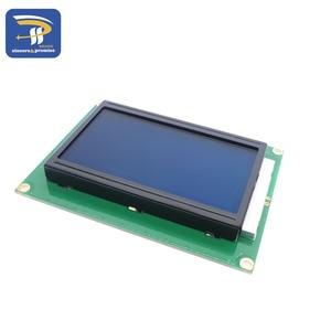 Image 4 - LCD Board Yellow Green Screen 12864 128X64 5V Blue Screen Display ST7920 LCD Module For Arduino 100% New Original