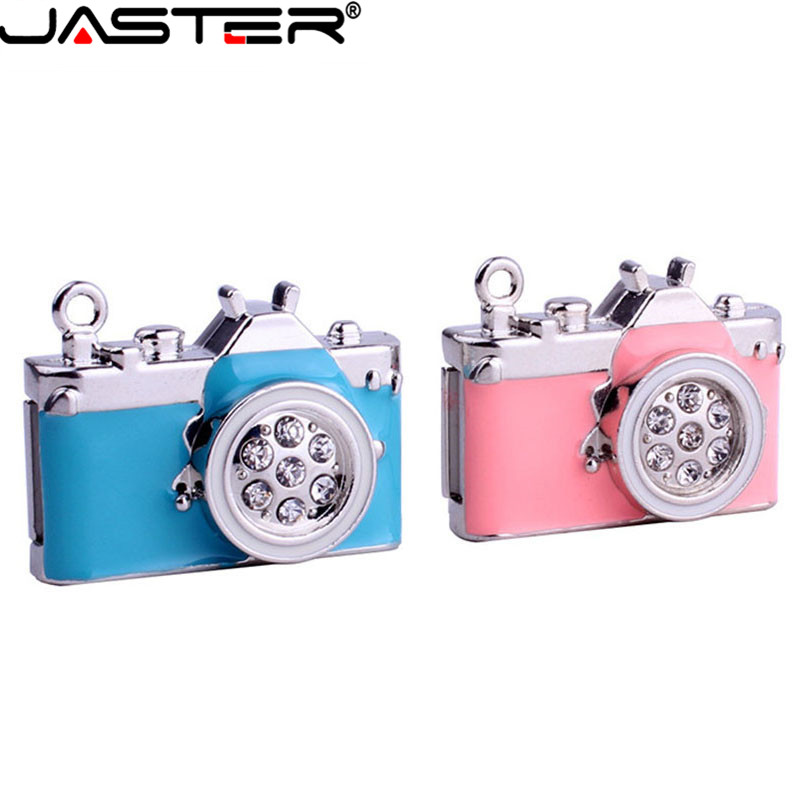 Contemplative Jaster Lovely Mini Camera Usb Flash Drive Crystal Memory Stick Special Gift Fashion Hot Sale Pendrive 4gb/8gb/16gb/32gb U Disk 2019 Latest Style Online Sale 50%