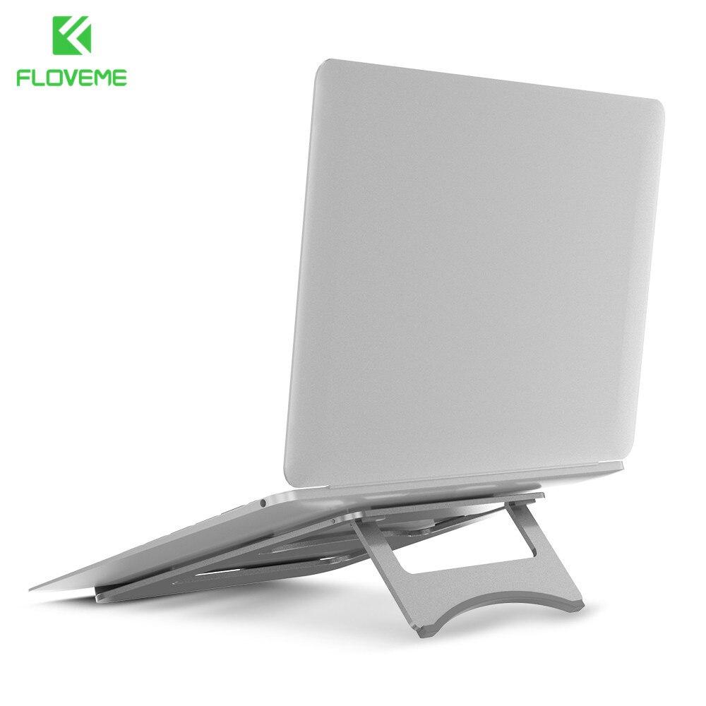 imágenes para FLOVEME Laptop Tablet Sostenedor Del Soporte de Escritorio Del Sostenedor Del Soporte Soporte de Apoyo de Alta Calidad Ordenador Portátil Titulares