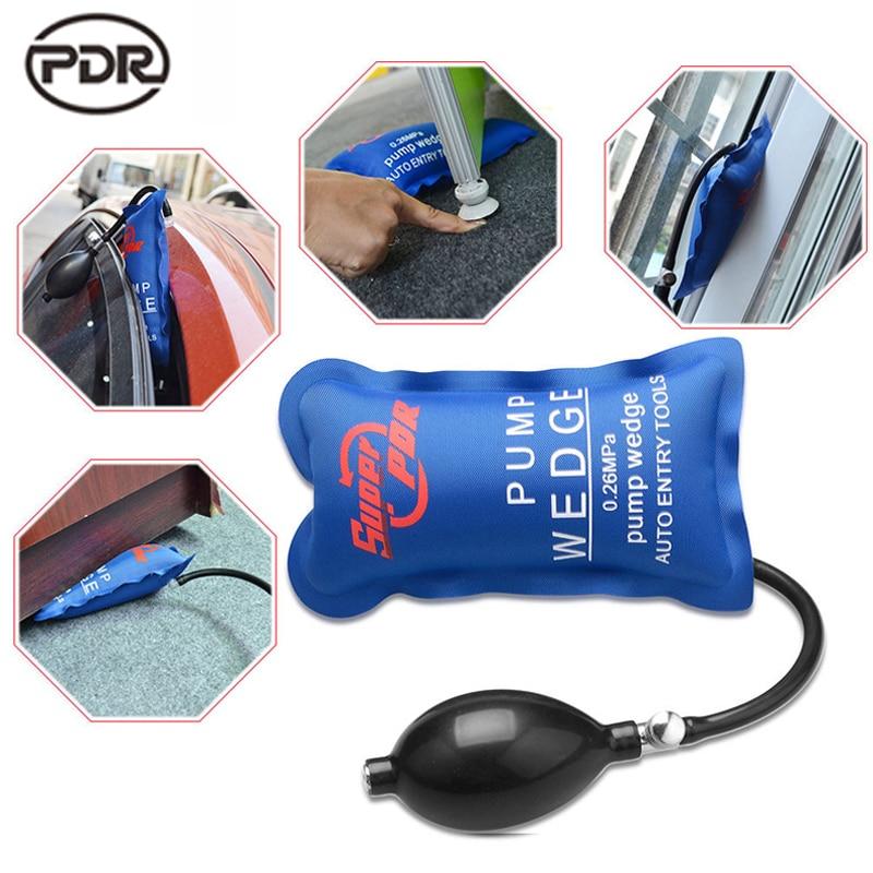 Locksmith Supplies Super PDR Pump Wedge Locksmith Tools Auto Air Wedge Airbag Lock Pick Set Open Car Door Lock Opening Tools