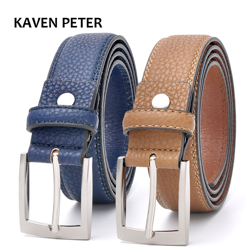 Mode-accessoires Trends Jeansriem Heren Koeienhuid Blauwe jurk met - Kledingaccessoires - Foto 5