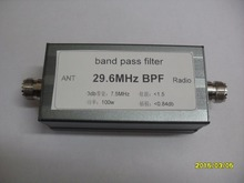 BPF-plus 29.6 High isolation of 29.6MHz BPF Narrow band bandpass filter for adjacent frequency short wave competition