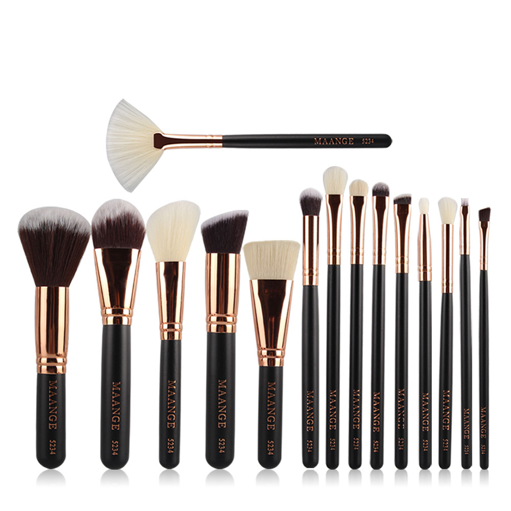 15Pcs Makeup Brush Make-up Brush Cosmetic Women Foundation Lip Eyeshadow Eyeliner Make Up Pincel Maquiagem Eye Brush Tools Set 15pcs cosmetic makeup brush women foundation eyeshadow eyeliner lip make up eye brushes set