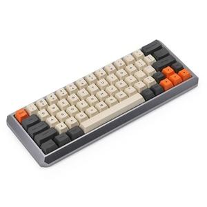 Image 2 - Carbon 64 Layout Dye sub Keycaps OEM Profile Include 1.75 Shift Fit GK64 Mechanical Gaming 60% Keyboard Teclado Mecanico Gamer